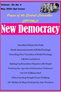 New Democracy May 2020 (Special Issue)