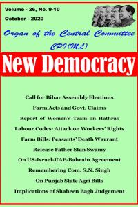 New Democracy October 2020