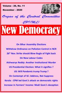 New Democracy November 2020