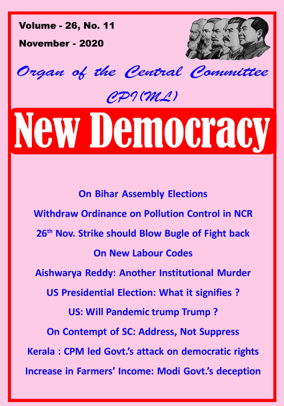 New Democracy November 2020