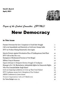New Democracy, April 2021