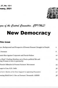 New Democracy January 2021